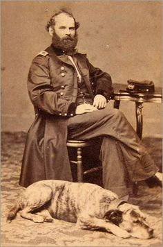 Civil War Soldier and his Dog