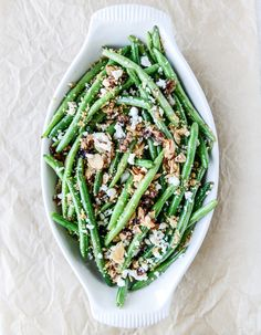 Loaded Skillet Toasted Green Beans