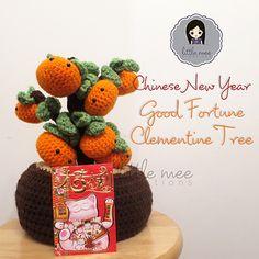 Amigurumi Clementine Tree - FREE Crochet Pattern / Tutorial