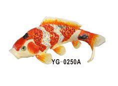 Interesting Design Neon Colorful Fish Trinket Box Metal Crafts for Bowl Decoration