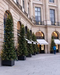 Paris Decorated for Christmas- In Paris right now, there is a buzz in the air as the holiday season picks up speed.