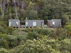 Almost Every Part of this Prefab Beach House Was Brought to its Secluded Site by Hand