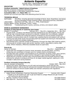 It Consultant Resume Examples Delectable Nice Excellent Culinary Resume Samples To Help You Approved Check .