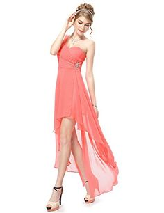 Ever-Pretty is the place to find hundreds of beautiful gowns and affordable dresses in unique and fashion-forward styles. We are known for our beautiful bridesmaid dresses, evening dresses, cocktail dresses. High Low Chiffon Dress, High Low Prom Dresses, A Line Prom Dresses, Quinceanera Dresses, Summer Dresses For Women, Ball Dresses, Homecoming Dresses, Red Chiffon, Party Dresses