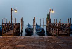 Venetian Twins. Venice, Italy. #Atmosphere #Canal #Canale #Dreamy #Dream #fineart #fineartphotography #Fog #Foggy #Gondolas #StreetLights #Venice #Veneto #Venezia #travel #StreetLamps #Mood #marcoromaniphotography #marcoromani #Lampioni #Lagoon #Lamps #bluehour #Gondola #Laguna #Venetian #Nikon #Feisol #Nikkor #NikonD800 #blue #italy #italia #canalgrande #italy #italia