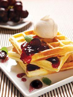 6 receitas de waffles - Portal de Artesanato - O melhor site de artesanato com passo a passo gratuito