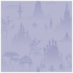 Scenic Princess Toile in Purple