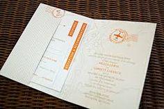 Resultado de imagem para wedding invitation travel theme