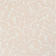 Pink floral lace metallic vintage home wallpaper R2049.