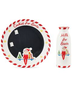 Department 56 Elf on the Shelf Cookies for Santa Set