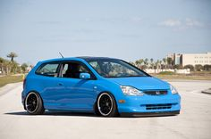 Cool Blue EP3 Civic love love love the color