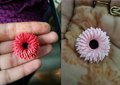 Double Fringing Flower tutorial - Video in the blog link :)