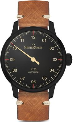 MeisterSinger Watch Blackline #add-content #basel-18 #bezel-fixed #bracelet-strap-leather #brand-meistersinger #case-material-black-pvd #case-width-43mm #cws-upload #delivery-timescale-call-us #dial-colour-black #discount-code-allow #gender-mens #luxury #movement-automatic #new-product-yes #official-stockist-for-meistersinger-watches #packaging-meistersinger-watch-packaging #price-on-application #style-dress #subcat-blackline #supplier-model-no-am902bl