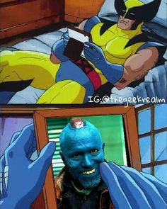 "1,397 Me gusta, 11 comentarios - The Geek Realm 👊 (@thegeekrealm) en Instagram: ""😢You're my boy, Blue!😢 @thehughjackman @michael_rooker Please Like, Share, and TAG your Friends 👇…"""
