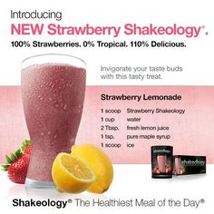 Simplify your nutrition with Shakeology®, the Healthiest Meal of the Day®. Replace one meal a day with Vanilla, Chocolate, Strawberry, Greenberry, Chocolate Vegan, or Tropical Strawberry (vegan) to help increase your energy, reduce cravings, lose weight, and feel great.* When you choose Home Direct, our monthly autoship program, you get Super Discount shipping every month, plus a FREE gift.**†  Strawberry Shakeology – Now Shipping!
