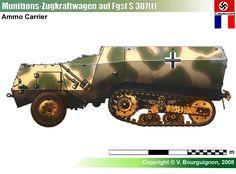 Munitions Zugkraftwagen auf Fahrgestell S 307(f)