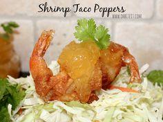 ~Shrimp Taco Poppers!