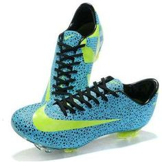 Sale Nike Mercurial Vapor VII Superfly III FG 2011 Cristiano Ronaldo Soccer Cleats Blue Black Green0
