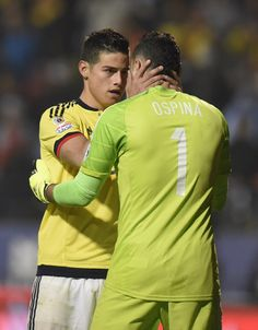 Despite being brothers-in-law and Colombia team-mates, David revealed he did not know James growing up