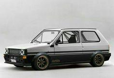 Seat Panda Low Race in Japan Racing Fiat Cinquecento, Fiat Abarth, Seat Marbella, Fiat Panda, Panda Panda, Fiat Models, Suzuki Swift Sport, Fiat 850, Mercedes