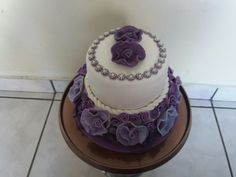 Sweet 15 birthday cake cakes done by me Pinterest Sweet 15
