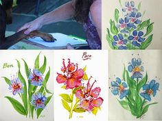 These artists used paw prints to create flowers. Photos via Pinterest Summertime is here, which means that kids—and sometimes adults—are often looking for fun projects to occupy their time. How about making art with your dog? There are lots of ways to. . .Read More »