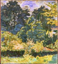 Forest - Pierre Bonnard