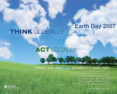 Think Globally Act Locally g4