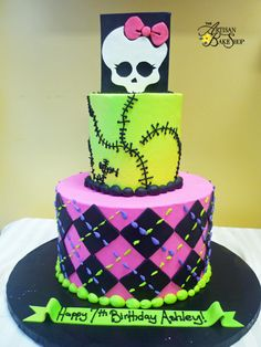 monster+high+birthday+cake+image | Cakes, Special Occasion Cakes, Specialty Theme Cakes, Custom Birthday ...