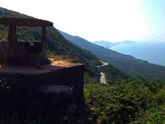 The old fortress on the spectacular Hai Van Pass south of Hue.