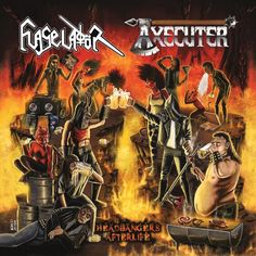 Headbangers Afterlife, an Album by Flageladör / Axecuter. Released October 15, 2016 on Mindscrape (catalog no. MIND 005-CD; CD).