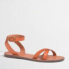 J.Crew Factory Factory Milo sandals on shopstyle.com