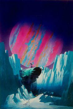 Official website of John Harris: landscape, science fiction and marine artist Space Fantasy, Fantasy Concept Art, Fantasy Art, Arte Sci Fi, Cyberpunk, 70s Sci Fi Art, 80s Sci Fi, Futuristic Art, Science Fiction Art