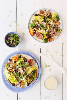 Summer Shaved Lamb Salad | Crush Magazine