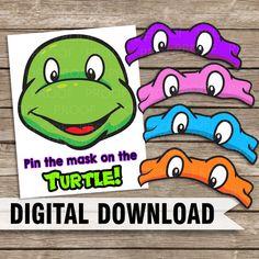 Teenage Mutant Ninja Turtle TMNT Themed Pin by SkyeCustomDesigns