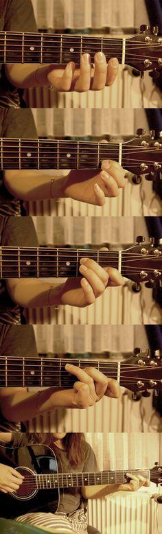 C Chord spielen