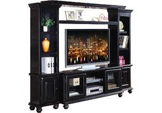So ready for a new entertainment center! Love this one