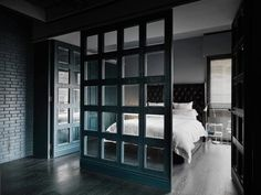33 Kinds of Joys of Life darken theme flat by Taipei Base Design Center - CAANdesign | Architecture and home design blog