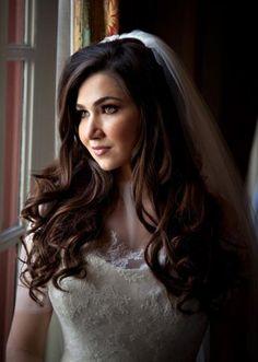 Gorgeous curls. Photo by Larry Sengbush. #wedding #hair