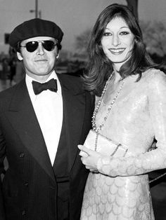 Jack Nicholson & Anjelica Huston, 1975 - They dated for 17 years!