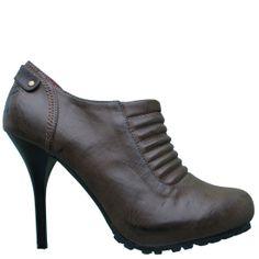 Ed Hardy Shoes | Ed Hardy Adiel Heel Shoe for Women - Brown