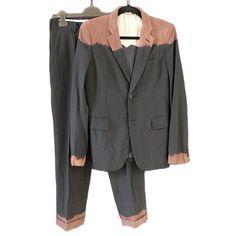 Comme des Garcons Homme Plus Evergreen dip-dye suit. Size - Depop