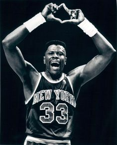 Patrick Ewing, New York Knicks.