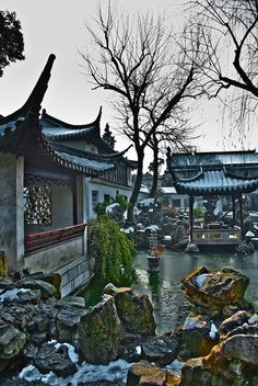 Winter in Suzhou, China