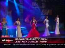 Magali Febles Ratifica Su Lealtad A Donald Trump #Video