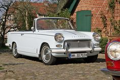 Triumph Herald 1200 Convertible - a wonderful car with very nice lines that still appeal today.