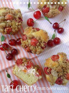 Tart Cherry Cream CheeseMuffins
