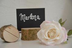 Hochzeitsdeko - 15 x Platzkartenhalter Tischkarte Namensschild - ein Designerstück von majalino bei DaWanda