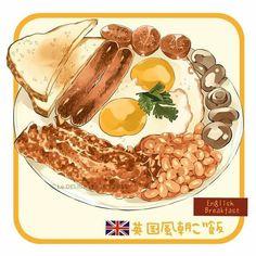 foody, food illustration