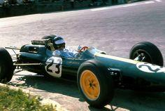 Jim Clark (Lotus-Ford) vainqueur du Grand Prix de Belgique - Spa-Francorchamps 1964 - UK Racing History.